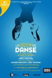Affiche La leçon de danse