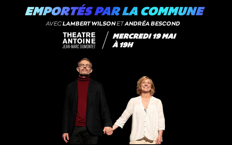 Emportés par la commune - Théâtre Antoine